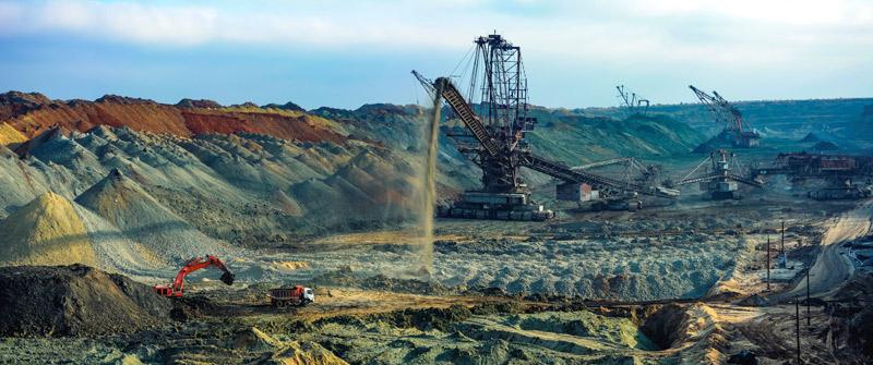 Górnictwo, przemysł naftowo-gazowy